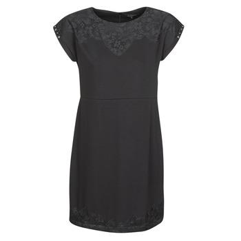 material Women Short Dresses Desigual BANQUET Black