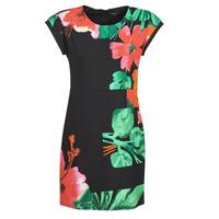 material Women Short Dresses Desigual PACIFIC OCEAN Multicolour