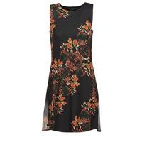material Women Short Dresses Desigual PAPILLON Multicolour