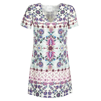 material Women Short Dresses Desigual YUKON Multicolour