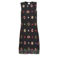 material Women Short Dresses Desigual TRESOR Multicolour