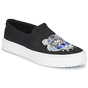 Shoes Women Slip ons Kenzo K-SKATE SLIP ON Black