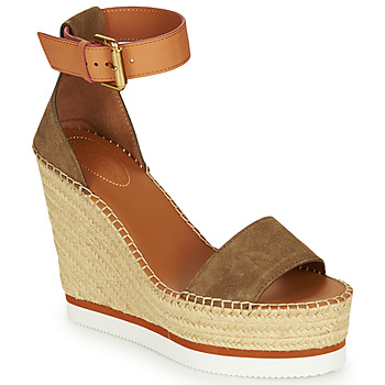 Shoes Women Espadrilles See by Chloé SB26152 Kaki