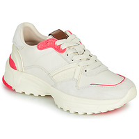 Shoes Women Low top trainers Coach C143 RUNNER White / Pink