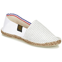 Shoes Women Espadrilles Art of Soule AUDACIEUSES White / Silver