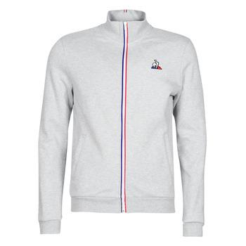 material Men Jackets Le Coq Sportif ESS FZ Sweat N°2 M Grey / Mottled