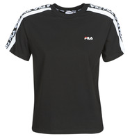 material Women short-sleeved t-shirts Fila TANDY Black