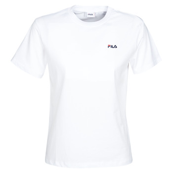 material Women short-sleeved t-shirts Fila EARA White