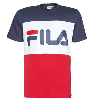 material Men short-sleeved t-shirts Fila Day Marine / Red / White
