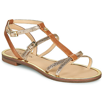Shoes Women Sandals JB Martin 1GRIOTTES Brown / Gold