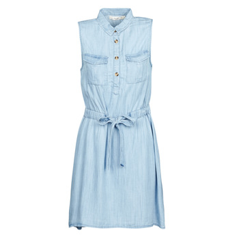 material Women Short Dresses Deeluxe LALI Blue