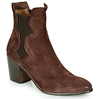 Shoes Women Ankle boots Moma NIAGARA - OLIVER Brown