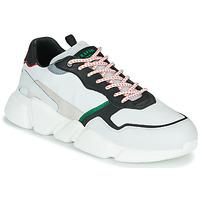 Shoes Men Low top trainers Serafini OREGON White / Black