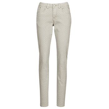 material Women 5-pocket trousers Cream ANNIE Grey