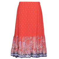 material Women Skirts Cream NALITA Red