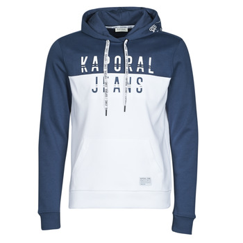 material Men sweaters Kaporal TOSCA White / Blue