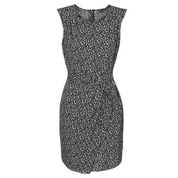 material Women Short Dresses Ikks BQ30045-03 Black