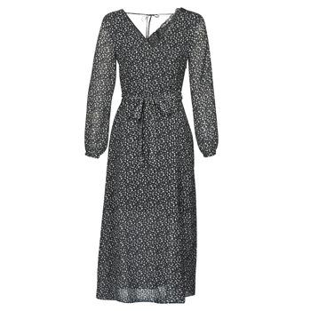 material Women Long Dresses Ikks BQ30085-03 Black