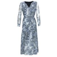 material Women Long Dresses Ikks BQ30285-45 Blue