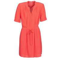 material Women Short Dresses Ikks BQ30335-36 Orange