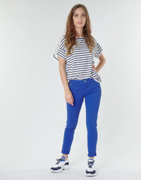 material Women 5-pocket trousers One Step LE JUDY Blue