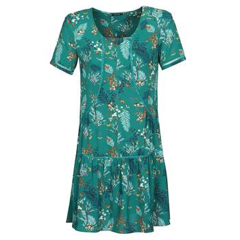 material Women Short Dresses One Step RENATO Green