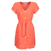 material Women Short Dresses One Step RONIN Orange