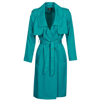 material Women Trench coats One Step DAWY Blue