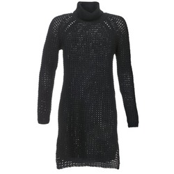 material Women Short Dresses Noisy May POCKET Black