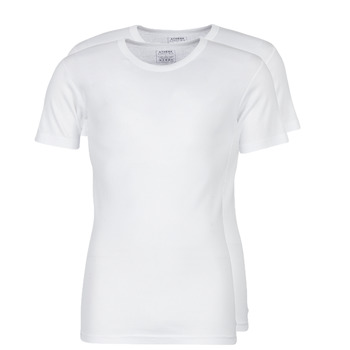 material Men short-sleeved t-shirts Athena T SHIRT COL ROND White