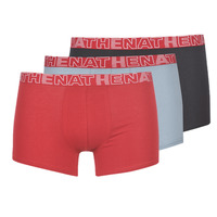 Underwear Men Boxer shorts Athena BASIC COLOR Black / Bordeaux / Grey