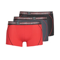 Underwear Men Boxer shorts Athena TRAINING Black / Red / Grey