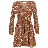 material Women Short Dresses Betty London LISONS Brown