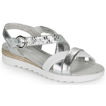 Shoes Women Sandals Gabor KRIZI Silver