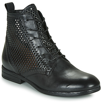 Shoes Women Mid boots Dream in Green MARLO Black