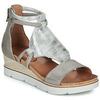Shoes Women Sandals Dream in Green IRABIEN Silver