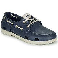Shoes Men Boat shoes Crocs CLASSIC BOAT SHOE M Marine / White
