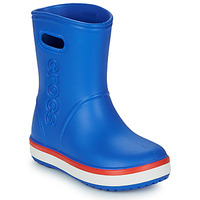 Shoes Children Wellington boots Crocs CROCBAND RAIN BOOT K Blue / Red