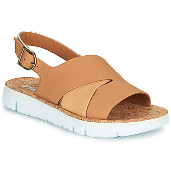 Shoes Women Sandals Camper TWINS Nude / White