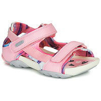 Shoes Girl Sandals Camper OUS0 Pink / Grey