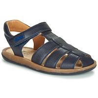 Shoes Children Sandals Camper BICHO Blue / Marine