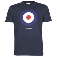 material Men short-sleeved t-shirts Ben Sherman SIGNATURE TARGET TEE Marine