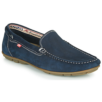 Shoes Men Loafers Fluchos SILVA Marine