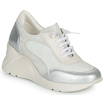 Shoes Women Low top trainers Hispanitas TOKIO White / Silver