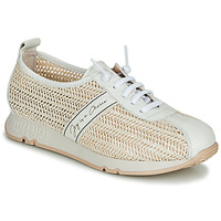 Shoes Women Low top trainers Hispanitas KIOTO Beige / White