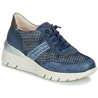 Shoes Women Low top trainers Hispanitas RUTH Blue / Gold / Silver
