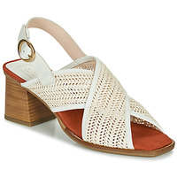 Shoes Women Sandals Hispanitas GRANADA White / Beige