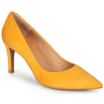 Shoes Women Court shoes Perlato 10509-CAM-SAFFRON Yellow