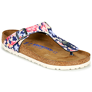 Shoes Women Flip flops Birkenstock GIZEH SFB Multicoloured