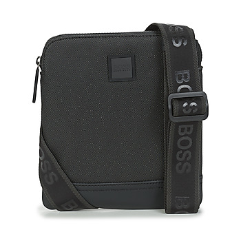 Bags Men Pouches / Clutches BOSS HYPER P S ZIP Black